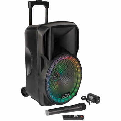 Ibiza Sound PARTY-12RGB Portable PA System with Lighting