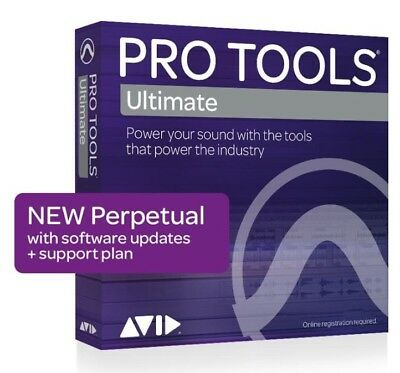 NEW Pro Tools ULTIMATE PROTOOLS PERPETUAL HD Software License Download Kit