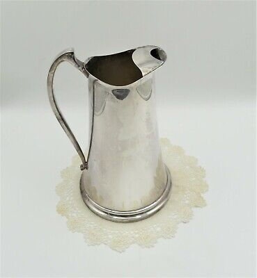 Beautiful The Sheffield Silver Co Silver Plated Water Pitcher 9 3/4 Inches