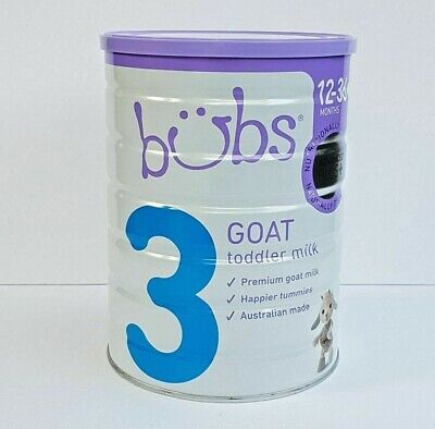 BUBS Advanced Plus+ Goat Milk Toddler Stage 3 (12-36 months) 800g (BB June 2020)