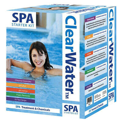 Spa Starter Kit Clearwater Hot Water Foam Remover Chlorine Granules