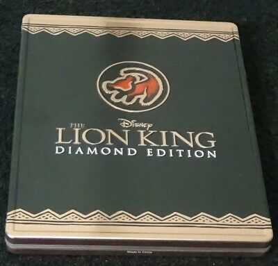 Disney THE LION KING Diamond Edition 2011 Best Buy METAL Case ONLY NO DISCS