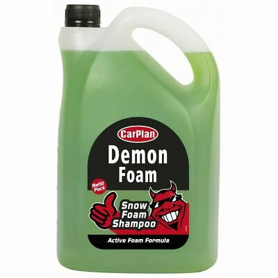 CarPlan Demon Foam 5L 5Litres Car Shampoo Exterior Cleaning Valeting CDW005