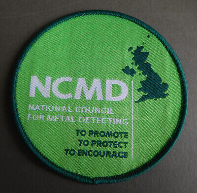 Metal Detecting - NCMD Sew on patch badge