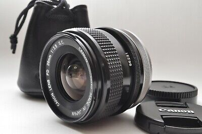 Near Mint* Canon FD 28mm F2.8 S.C. Manual Focus Wide Angle Lens from JAPAN # 162