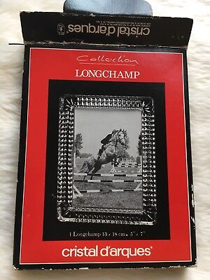 Collection Longchamp Cristal Darques Photo Frame 5''x7''