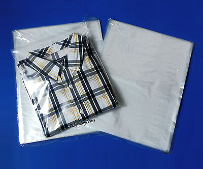 """1Mil Clear Poly 200 12x16"""" + 200 10x12"""" For T-Shirt Apparel Open Top Bags Combo"""