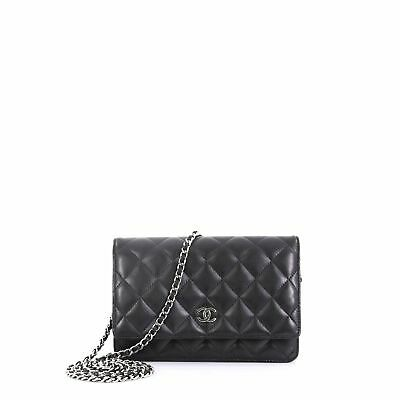 2fb35e356cdc CHANEL WALLET ON Chain Quilted Lambskin -  2