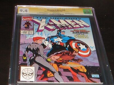 X-men #268 CGC 9.4 SS signed by Chris Claremont and Jim Lee