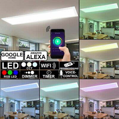 RGB LED Decken Panel CCT Wifi App Lampe Smart Home Google Alexa Leuchte dimmbar