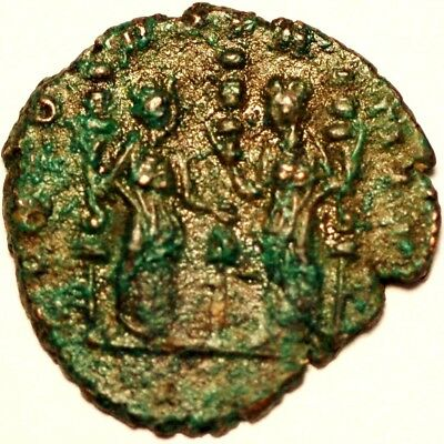 Ancient Roman Coin . Undetified  80UL