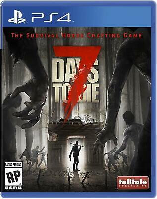 7 Days to Die- PS4 IMPORT neuf sous blister