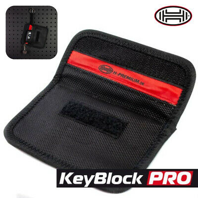 TOP Car Key keyless signal blocker pouch RFID blocking case antitheft protection