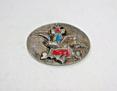 Vintage 1970s Anheuser Busch Eagle Emblem Logo Beer Belt Buckle Collectible