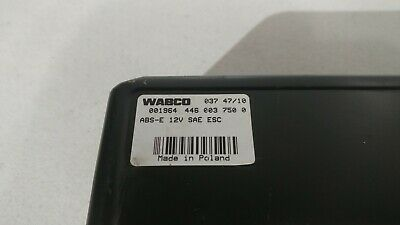 New Wabco ABS 12V Control Module - 446-003-750-0