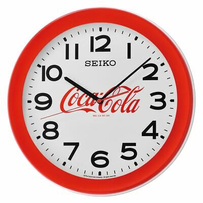 Coca-Cola Seiko Advertising Wall Coke Clock - Red Neon Vintage Art Sign Lighted