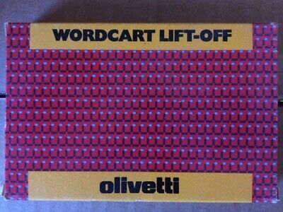 Olivetti Wordcard Lift off (Original)
