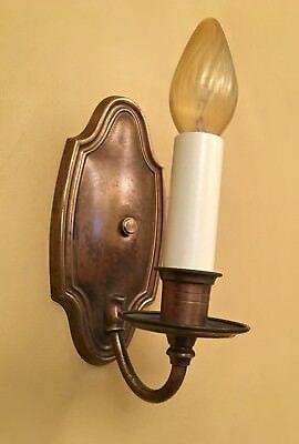 Vintage Lighting four circa 1930 sconces