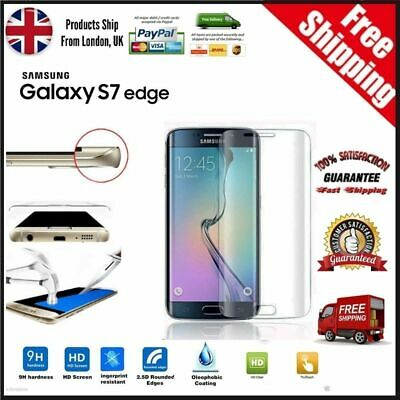 Samsung Galaxy S7 Edge 100% Genuine Tempered Glass Screen Protector - Clear