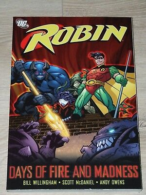 Robin - Days of Fire and Madness TPB (2006 DC)