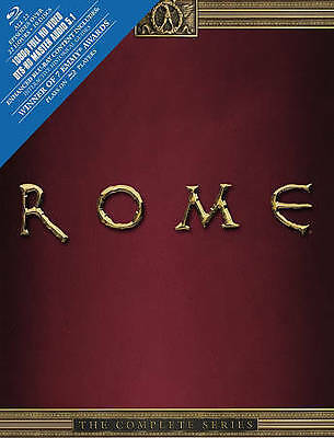 Rome: The Complete Series (Blu-ray Disc, 2013, 10-Disc Set) *BRAND NEW*