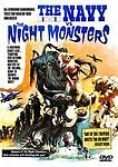 The Navy Vs. the Night Monsters (DVD, 2010)-mamie van doren-roger corman-sci-fi