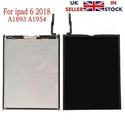 """New Apple iPad 6 6th Gen 9.7"""" 2018 A1893 A1954 Replacement LCD Display Panel UK"""