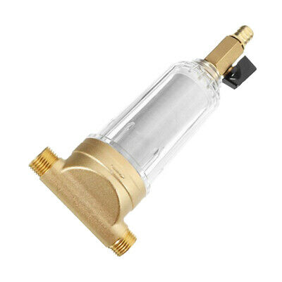 Water Pre-Filter System/Reusable Spin Down Sediment Water Filter