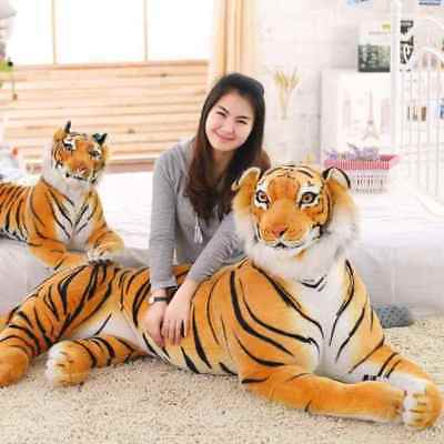 Huge Big Giant Plush Stuffed Tiger Emulational Toy Animal Doll Birthday Gifts