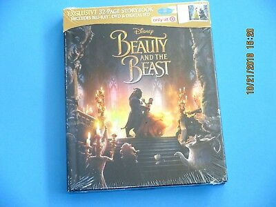 Beauty And The Beast Live(Blu-Ray + Dvd + Digital) Target Exclusive W/ Storybook