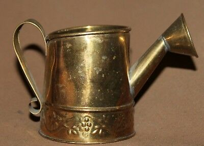 Vintage Small Brass Hosley Watering Can