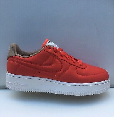72934027ca8e Nike Women s Air Force 1  07 LX 898889 600 Habanero Red Size 8.5 Premium AF1