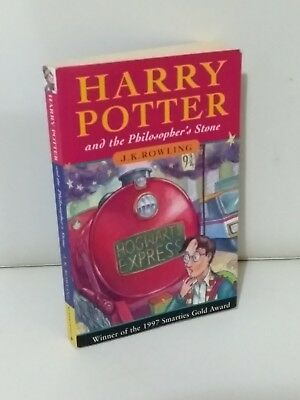 Harry Potter And The Philosopher's Stone Paperback Young Wizard 36th Print