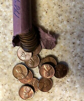 1 Roll of 1959  Lincoln Memorial Cents Uncirculated