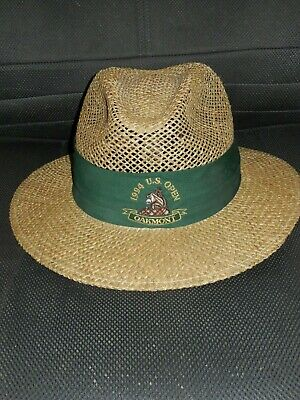 299137b8ae5cb Nwt - Vintage Collectible Duckster 1994 Us Open Oakmont Straw Men s Hat