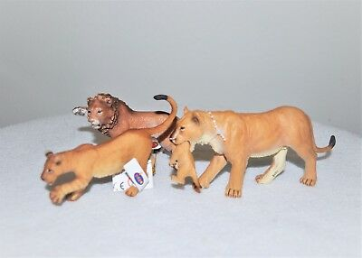 Schleich Popa  Animals Lion Family Pride Male Mother Juvenile