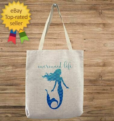 d91719dd0 Custom Mermaid Life Customizable Personalized Gift For Her Gift For Him  Tote Bag