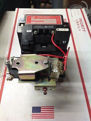 SQUARE D 8903 S00 2 SER. A UNMP Lighting Contactor #7152