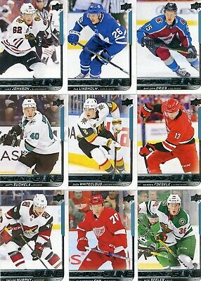 2018-19 UD Upper Deck Young Guns lot of 19 Series 1 YG All Different PETTERSSON
