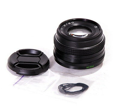 Helios 81NM 50mm 1:2 USSR Lens Converted To Fit NIKON DSLR MINT Cond