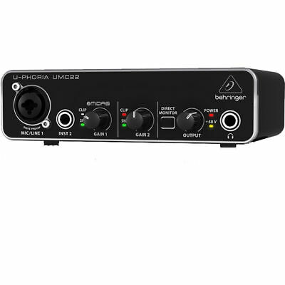 NEW Behringer UMC22 u-phoria Audio/MIDI Interfaces from JAPAN