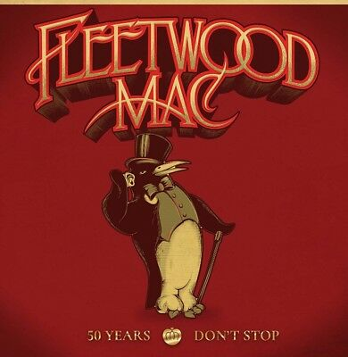 FLEETWOOD MAC 50 YEARS DON'T STOP 3 CD. New, Sealed, Free Postage