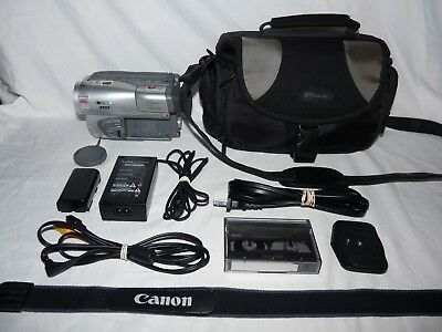 Canon ES55 ES55A 8mm Video8 Camcorder Camera VCR Player Video Transfer