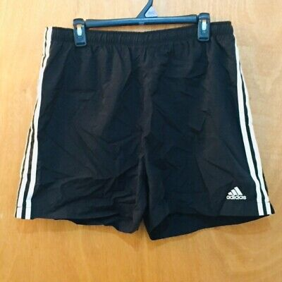 Vintage Adidas Soccer Shorts Size Large Nylon Drawstring 90 Activewear Bottoms Men's Clothing