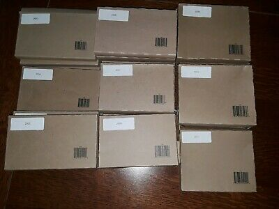 (26)sets 2003-2011 US Mint Set Uncirculated Coin Collections both P & D sets
