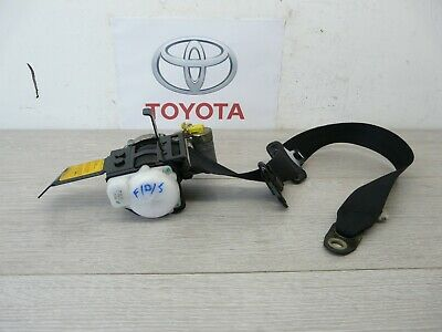 Toyota Mr2 Mk3 Drivers Side Right O/s Front Seat Belt Warranty 2000-2007
