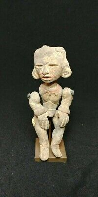 Pre-Columbian Teotihuacan articulate figure from Mexico. 650 ad.