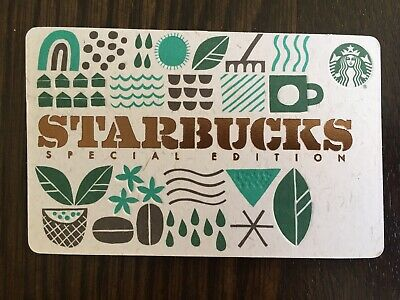 "Canada Series Starbucks ""RECYCLED BURLAP 2019"" Gift Card - New No Value - Eng/Fr"