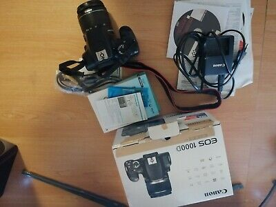 Appareil photo CANON EOS 1000D kit objectif EFS 18-55mm + Sacoche Manfrotto