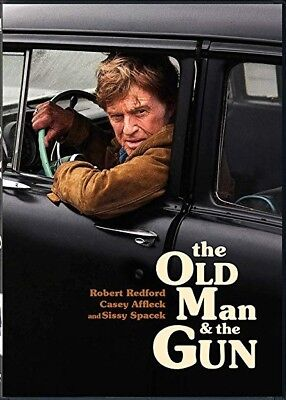 The Old Man and the Gun DVD - free shipping - like new - ROBERT REDFORD